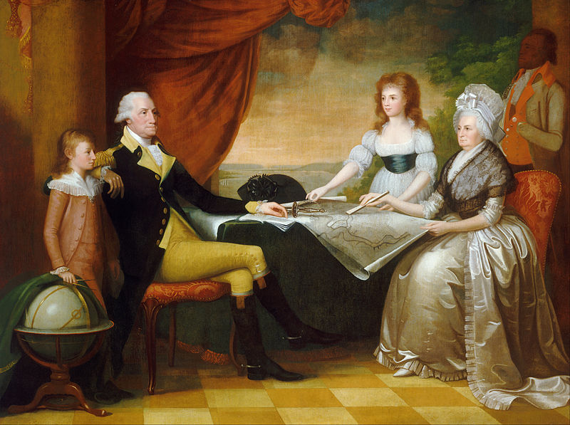 800px-Edward Savage - The Washington Family - Google Art Project